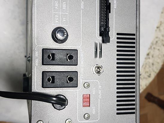 gabinete-back Fonte Externa no MSX Expert Gradiente