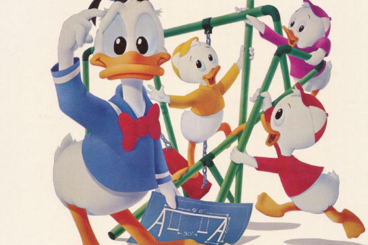 Donald Ducks Playground (C64, 1984)