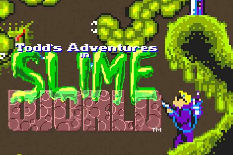Todd´s Adventures in Slime World (Atari Lynx, 1990)