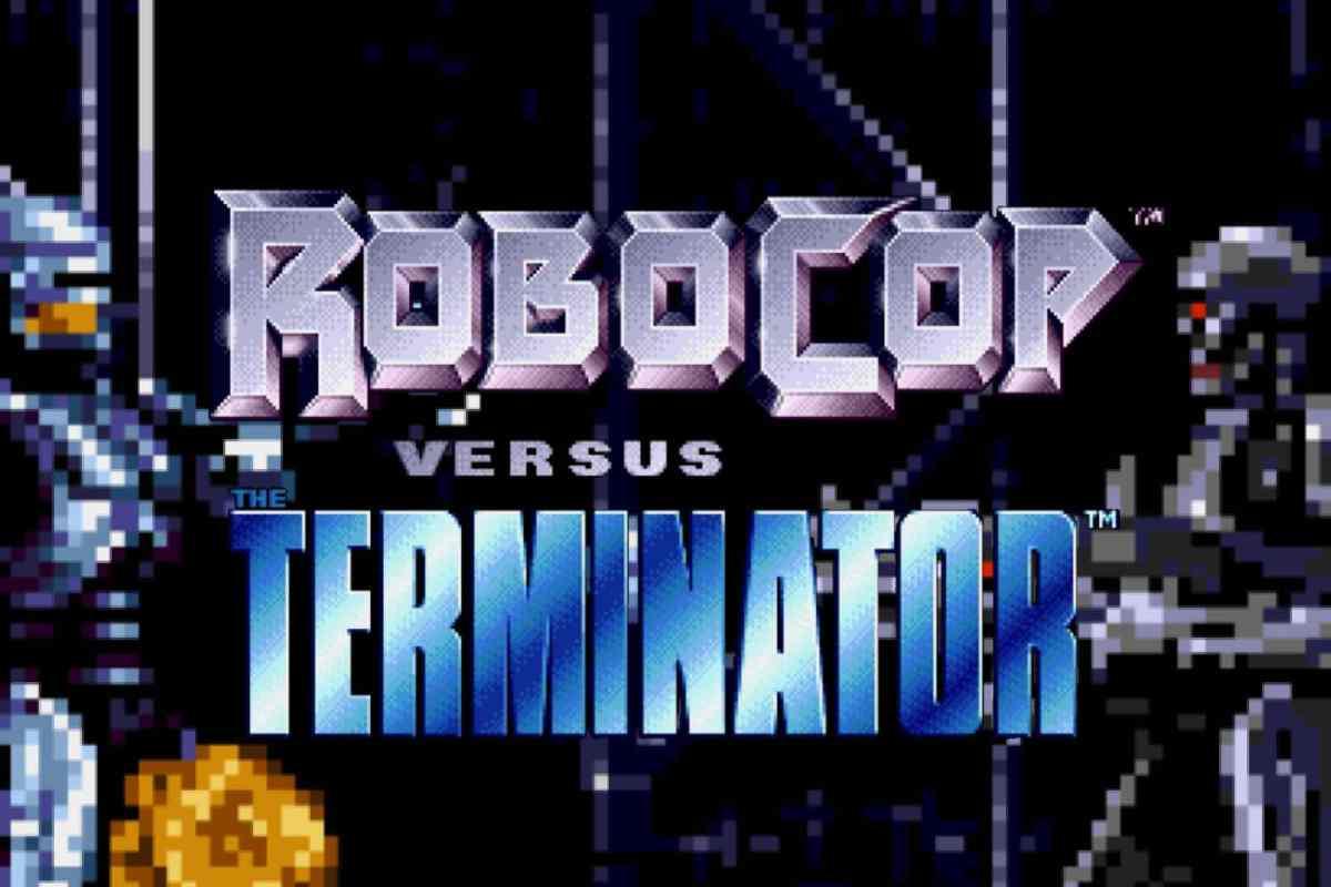 Robocop versus the Terminator (Sega MegaDrive, 1994)