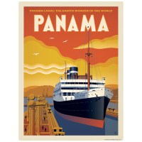 Panama Canal Decal at Retro Planet