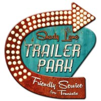 Shady Lane Trailer Park Metal Sign Large 3D Layered at ...