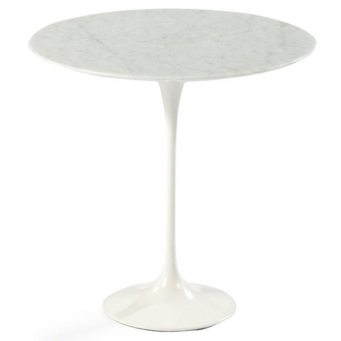 table basse tulipe en marbre