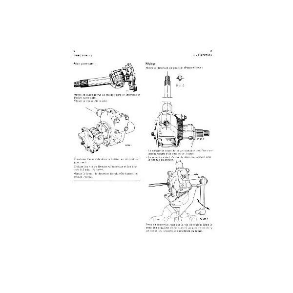 Renault Goélette et Voltigeur, manuel de réparation