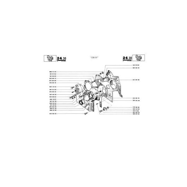 Catalogue de pièces Renault Saviem SB2 Trafic et Alfa