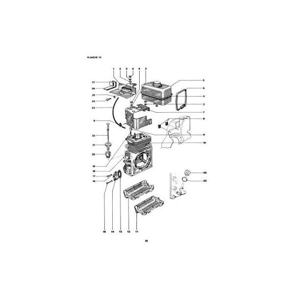 Catalogue de pièces Bernard-Moteurs 317, 417, 427