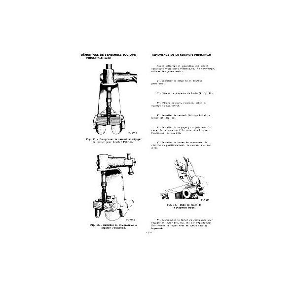 Manuel de réparation relevage hydraulique des McCormick B