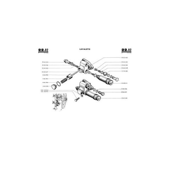 Catalogue de pièces Renault D16, N73, V73 type R7053