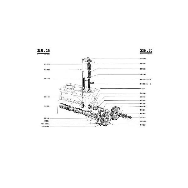 Catalogue de pièces Renault Super 5 type R7054