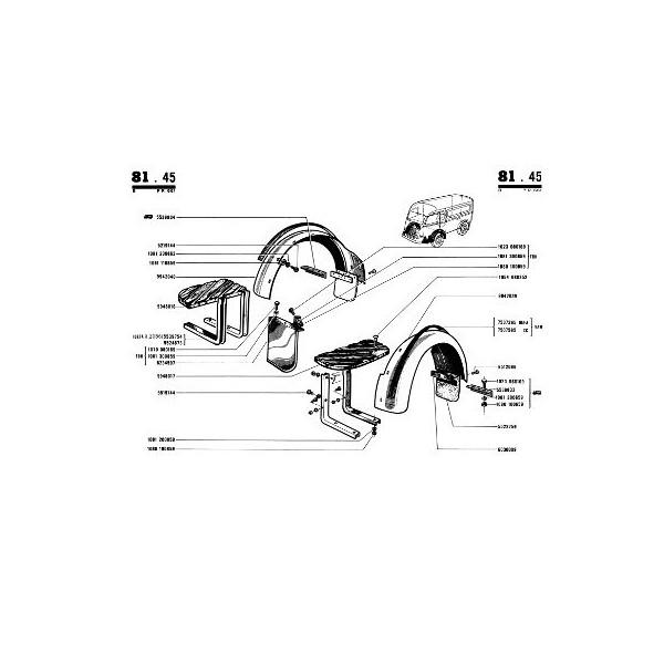 Renault Goélette et Voltigeur à moteur à essence