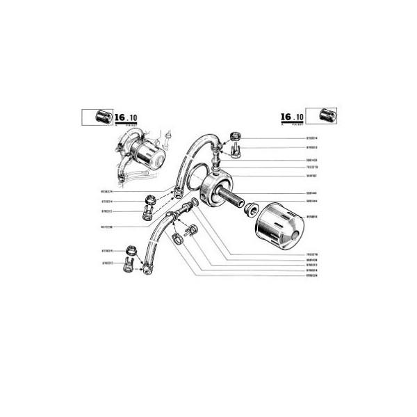 Catalogue de pièces Renault 8 Gordini type R1135