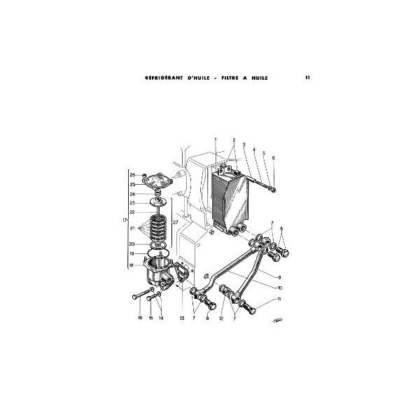 Catalogue de pièces des moteurs Alsthom Dieselair 316