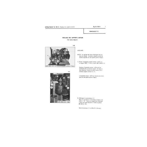 Citroën DS et ID tous types, manuel de réparation