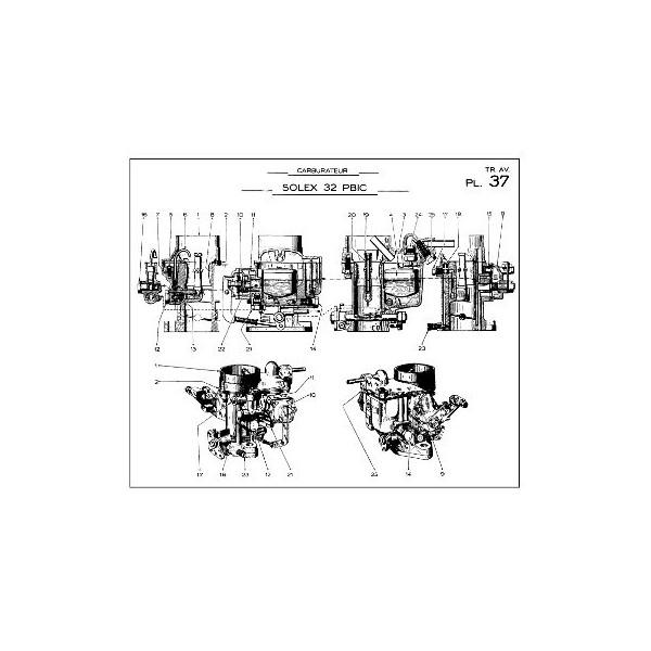 Citroën Traction Avant 7cv et 11cv, manuel de réparation