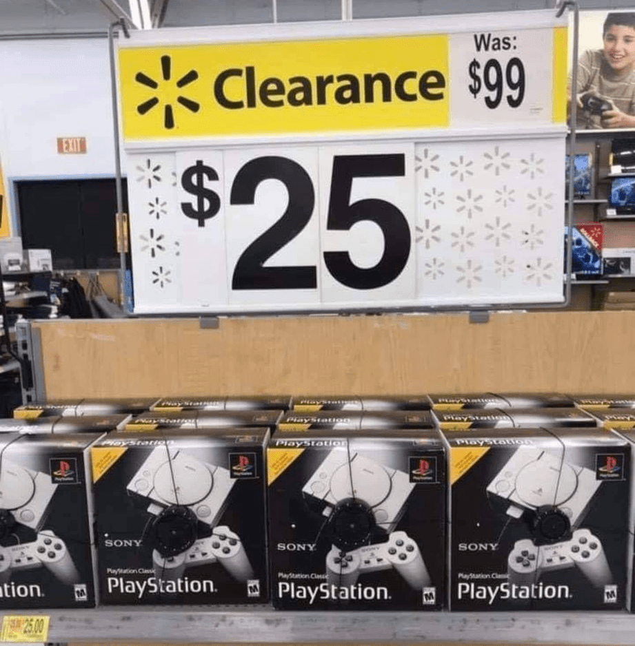 Playstation Classics Spotted at Wal-Mart for $25   RetroRGB