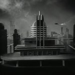 Art Deco City of the future