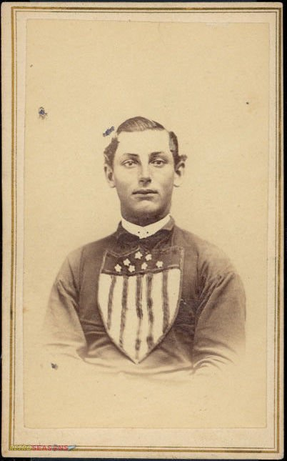 Stephen Steve King from 1866 Troy Haymakers Lansingburgh Union Baseball Team Players