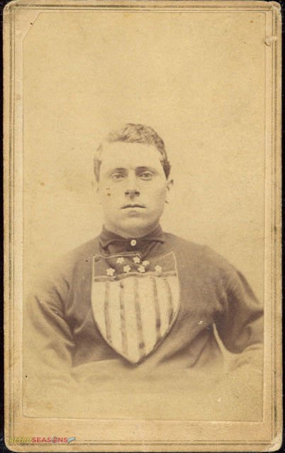 Anthony McQuide from 1866 Troy Haymakers Lansingburgh Union Baseball Team Players