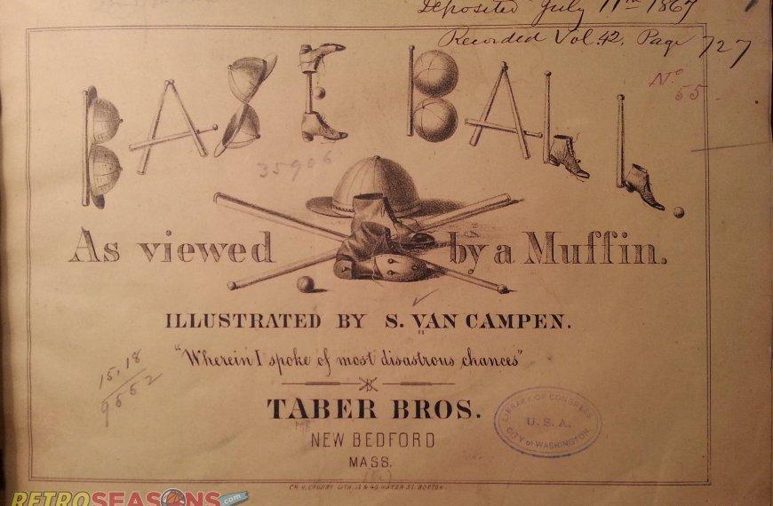 Baseball Illustrations from 1867