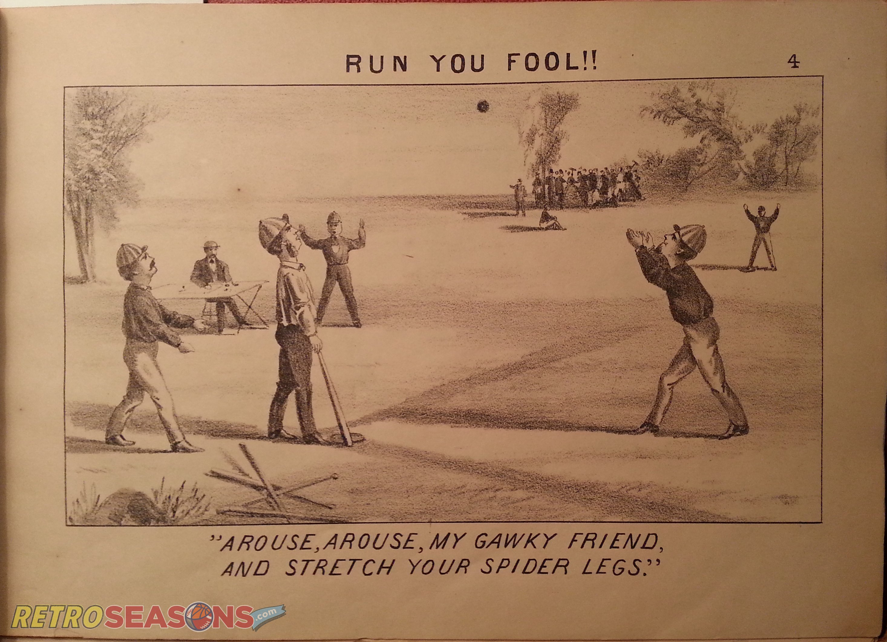 "Base Ball as Viewed by a Muffin"": Early baseball illustrations from 1867"