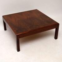 Danish Rosewood Retro Coffee Table Vintage 1960S ...