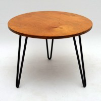 Retro Coffee Table On Hairpin Legs Vintage 1950S ...