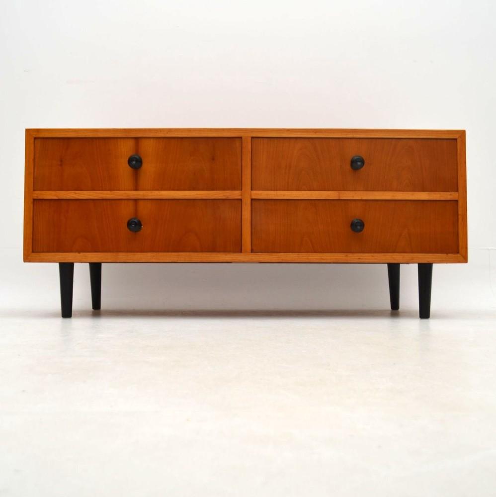 danish modern dining chairs chair rental utah retro elm sideboard vintage 1950's | retrospective interiors – furniture, second hand ...