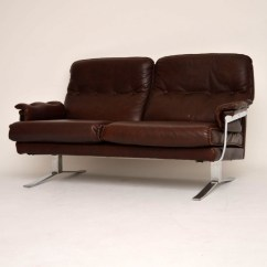 Clean A Leather Sofa Natuzzi Editions Bed Retro & Chrome By Arne Norell Vintage 1960's ...