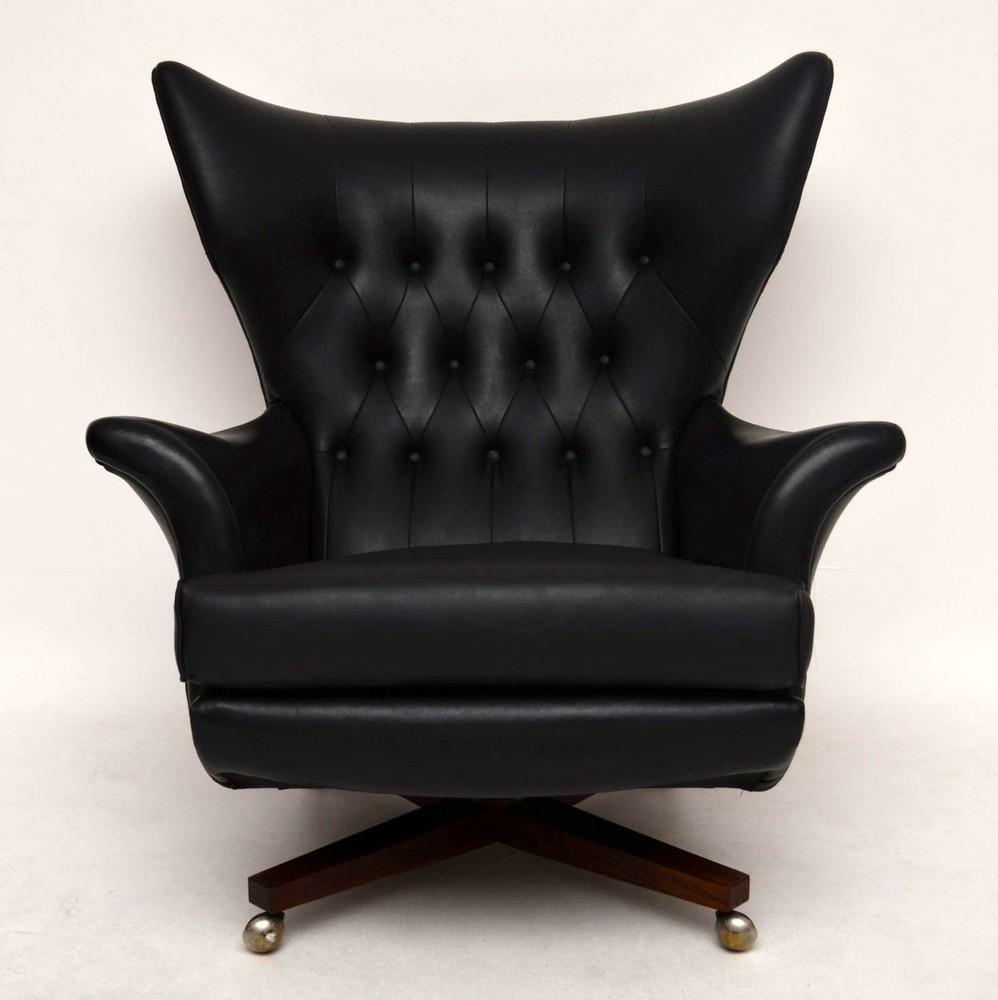Retro Swivel Rocking Armchair by G Plan Vintage 1960s