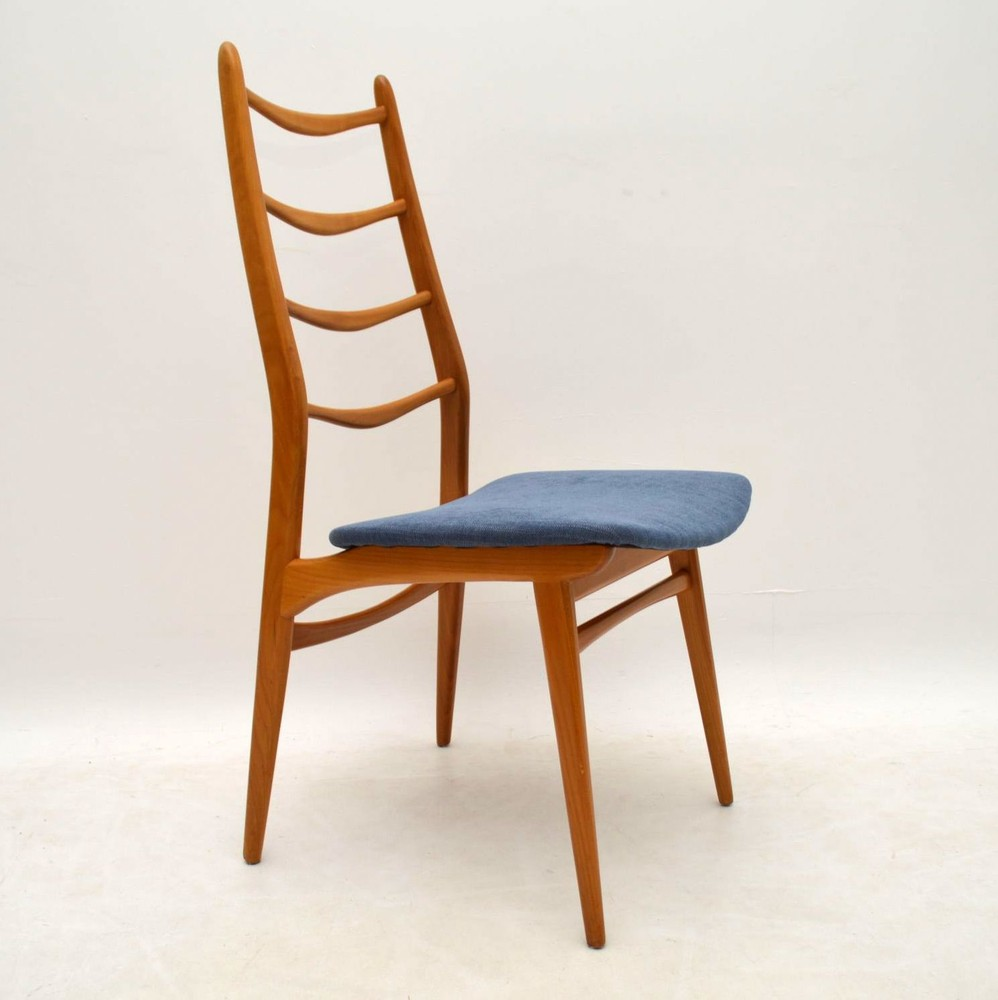 Set Of 6 Retro Dining Chairs Vintage 1950S