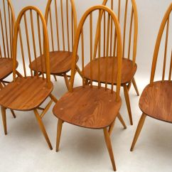 Ercol Windsor Dining Table And Chairs Wing Chair Slipcovers 1960s Grand Eight