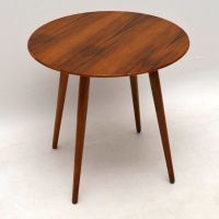 1950s Vintage Walnut Side Table / Coffee Table ...
