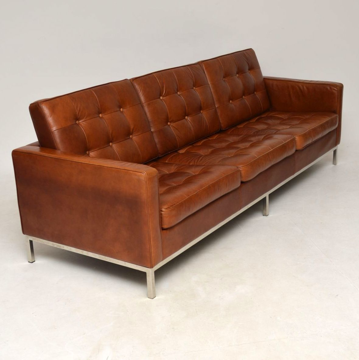 clic design sofa exquisite sofas vintage knoll before after