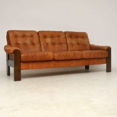Vintage Leather Sectional Sofa Goetz Review 1960s Danish Retrospective