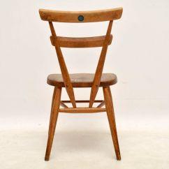 Blue Dot Chairs Wooden Garden B Q 1950s Ercol Childs Dining  Set Of 12