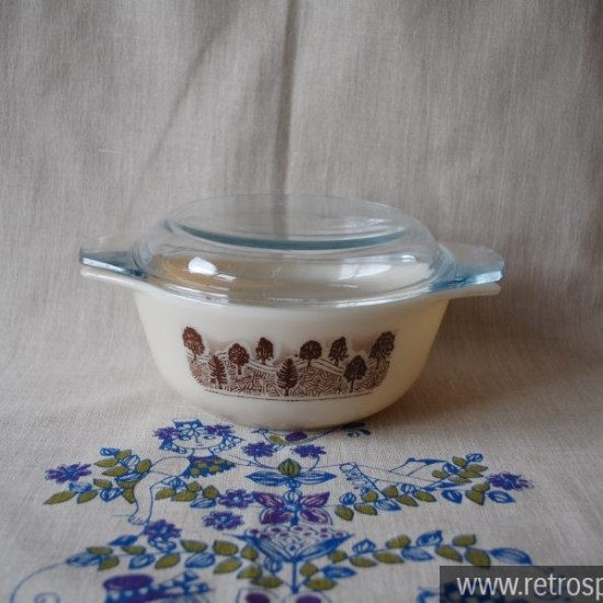 Pyrex England Rustic Pattern