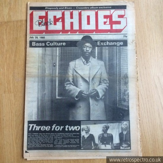 Black Echoes Linton Kwesi Johnson