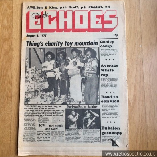 Black Echoes 6 August 1977