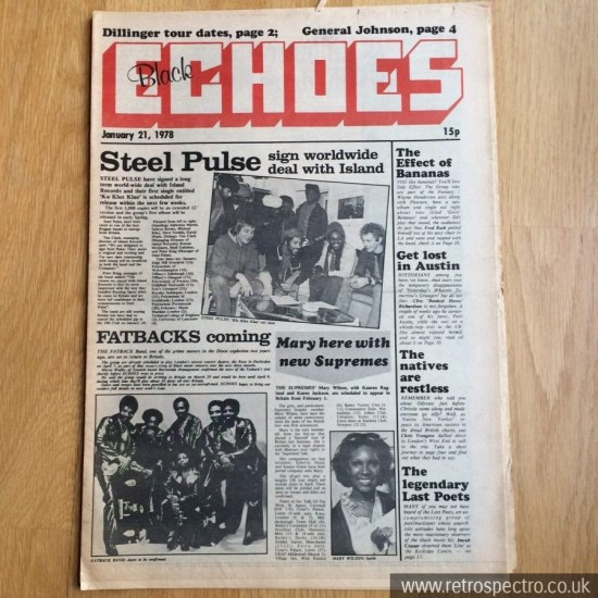 Black Echoes 21 January 1978