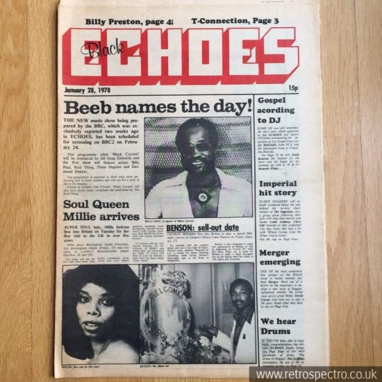 Black Echoes 28 january 1978