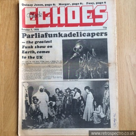 Black Echoes 7 October 1978