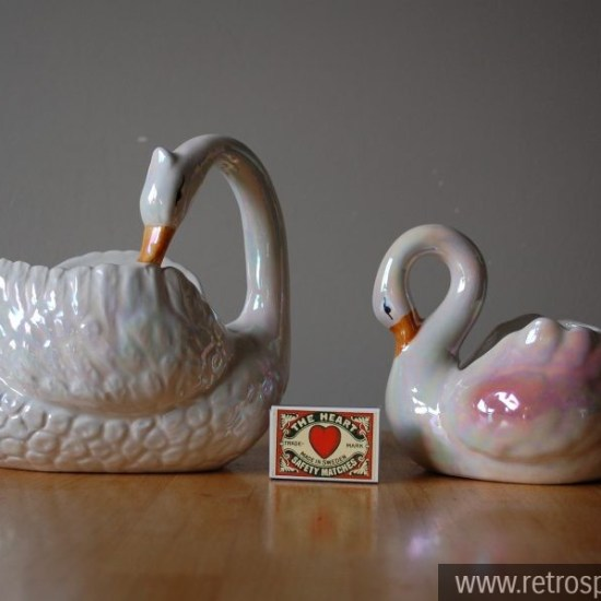 Swan Planters