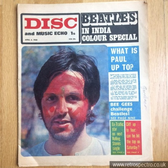 Disc And Music Echo April 1968