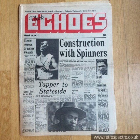 Black Echoes 12 March 1977