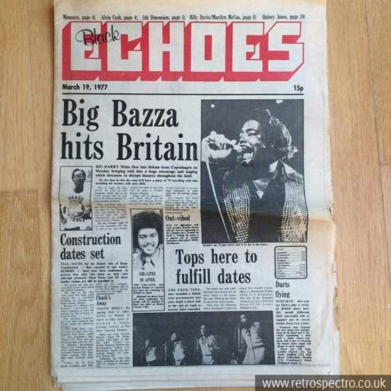 Black Echoes 19 March 1977