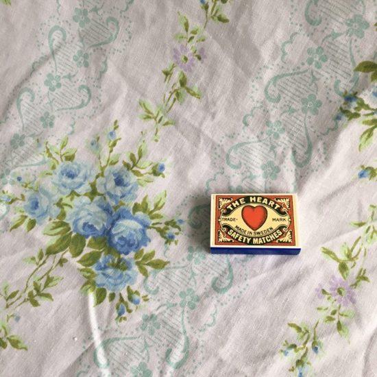 Vintage bed linen