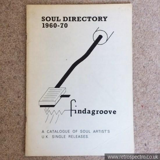 Findagroove Soul Directory 1960-1970