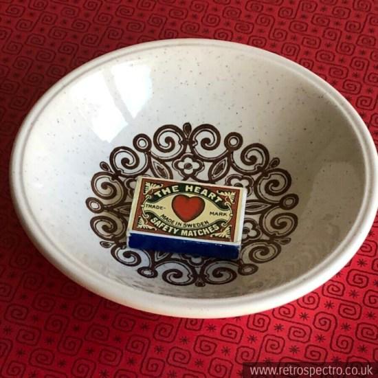 Broadhurst Cereal/Dessert Bowls Ironstone