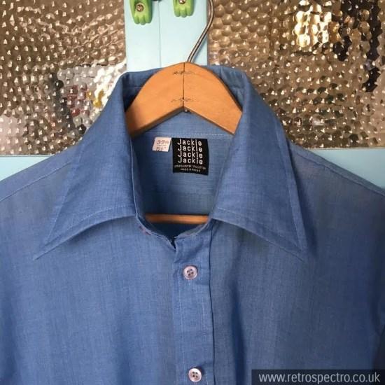 Dagger Collar Shirt