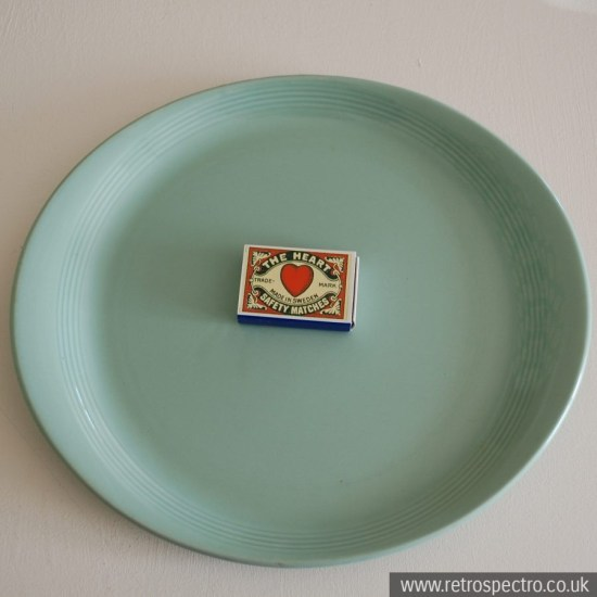 Wood's Ware Beryl Steak Plate